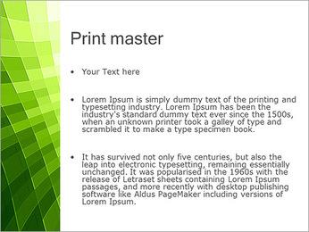 Vert Abstraction conception Modèles des présentations  PowerPoint - Diapositives 24