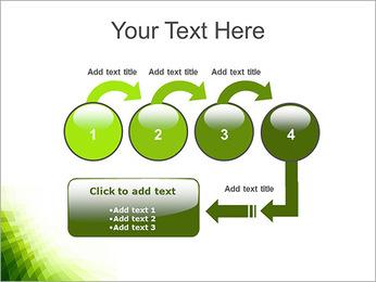 Vert Abstraction conception Modèles des présentations  PowerPoint - Diapositives 4