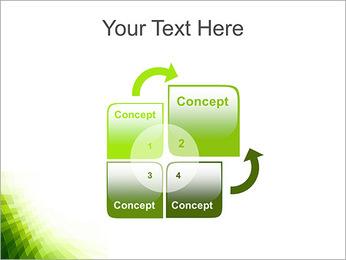 Vert Abstraction conception Modèles des présentations  PowerPoint - Diapositives 5