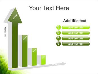 Vert Abstraction conception Modèles des présentations  PowerPoint - Diapositives 6