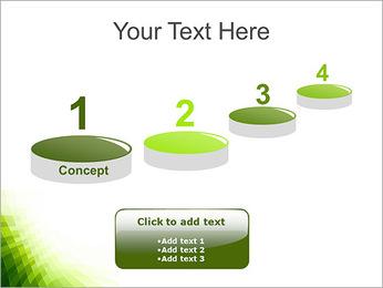 Vert Abstraction conception Modèles des présentations  PowerPoint - Diapositives 7