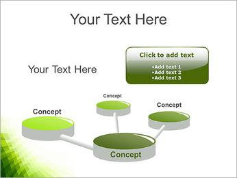 Vert Abstraction conception Modèles des présentations  PowerPoint - Diapositives 9