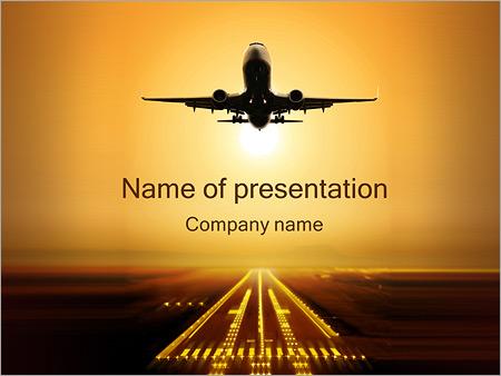 Plane Powerpoint Templates Elitadearest