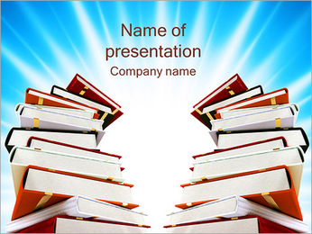 Power Of Knowledge PowerPoint Template