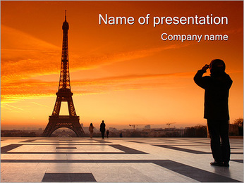 Paris Tour PowerPoint Template