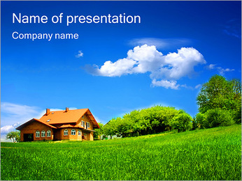 Country Cottage PowerPoint Template