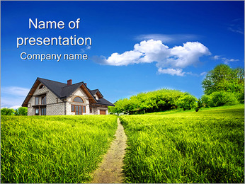 Summer Cottage PowerPoint Template