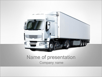 Truck Model PowerPoint Template