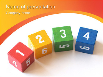 Learning To Count PowerPoint Template