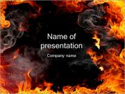 Flames Of Fire PowerPoint Templates