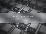 Modern Cell Phones PowerPoint Templates