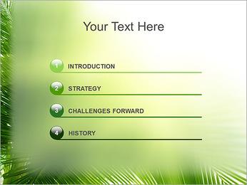 Coconut Tree Modèles des présentations  PowerPoint - Diapositives 3