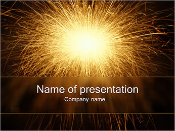 Amazing Fireworks PowerPoint Template