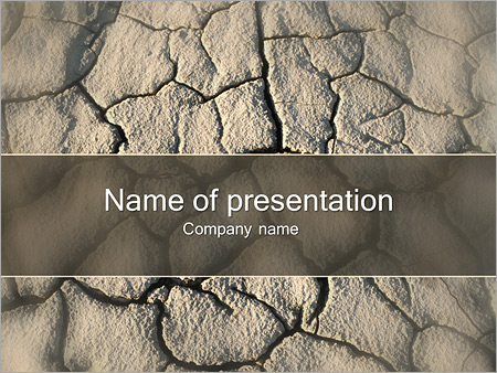 Soil powerpoint template smiletemplates dry soil powerpoint templates toneelgroepblik