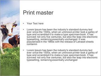 Ferme de vache Modèles des présentations  PowerPoint - Diapositives 24