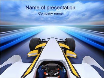 Formula One PowerPoint Template