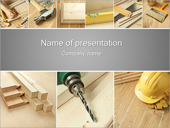 Building Instruments PowerPoint Template