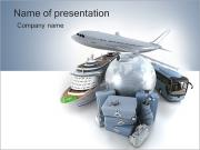 Ways Of Travelling PowerPoint Templates