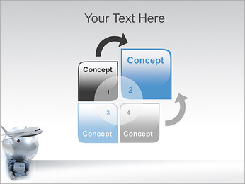 International Travelling By Plane PowerPoint Template - Slide 5