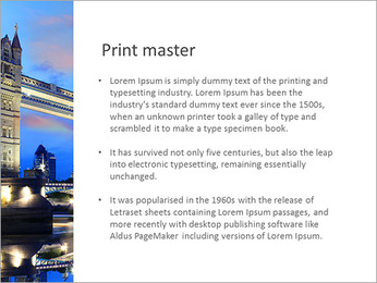 London Tour Modelos de apresentações PowerPoint - Slide 76