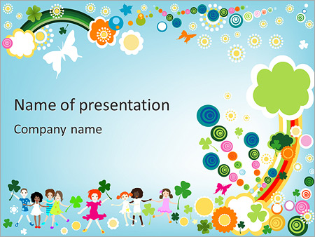 Kids powerpoint templates backgrounds google slides themes children illustration powerpoint templates toneelgroepblik Images