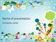 Children Illustration PowerPoint Templates