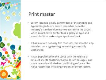 Enfants Illustration Modèles des présentations  PowerPoint
