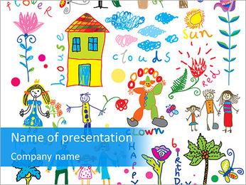 Photos de mignon enfantsa € ™ Modèles des présentations  PowerPoint