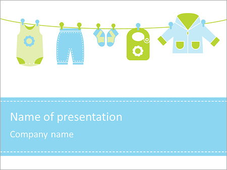Baby cloths powerpoint template backgrounds id 0000003643 baby cloths powerpoint templates toneelgroepblik Image collections