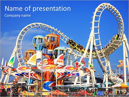 Park powerpoint template smiletemplates amusement park powerpoint template toneelgroepblik Images