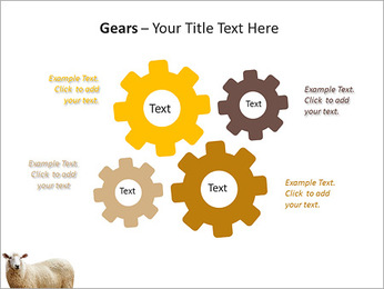 Troupeau de moutons Modèles des présentations  PowerPoint - Diapositives 27