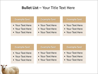 Troupeau de moutons Modèles des présentations  PowerPoint - Diapositives 36