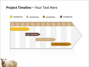 Troupeau de moutons Modèles des présentations  PowerPoint - Diapositives 5