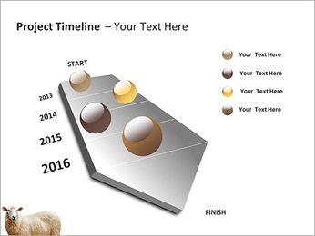 Troupeau de moutons Modèles des présentations  PowerPoint - Diapositives 6