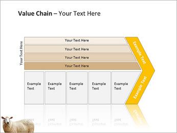 Troupeau de moutons Modèles des présentations  PowerPoint - Diapositives 7