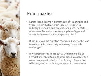 Troupeau de moutons Modèles des présentations  PowerPoint - Diapositives 76