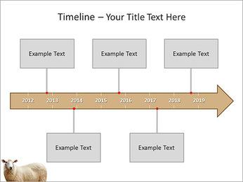 Troupeau de moutons Modèles des présentations  PowerPoint - Diapositives 8