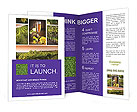 Wine And Grapes Brochure Templates