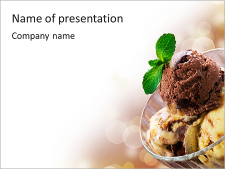 delicious ice cream powerpoint template backgrounds google slides