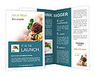 Delicious Ice Cream Brochure Templates