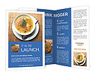 Soup With Vegetables Brochure Templates