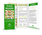 Vegetable Salad Brochure Templates
