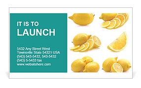 Sour Lemon Business Card Template