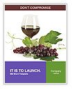Glass Of Red Wine Word Templates