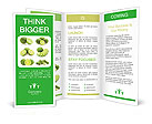 Slices Of Lime Brochure Templates