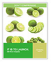 Slices Of Lime Word Template