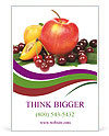 Mixed Fruits Ad Template