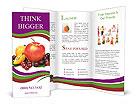Mixed Fruits Brochure Templates