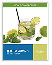 Mojito Cocktail Word Template