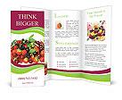 Summer Berries Brochure Templates